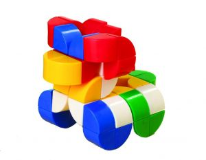 Cubes 2 cm - kvadrant, 200 stk 15-171212