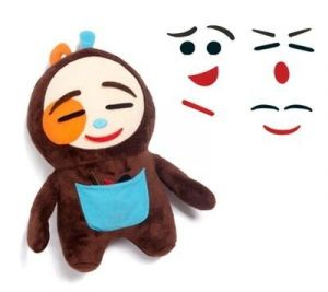Edushape - Tøjdyr, Bamse m følelser, Emoji E925120