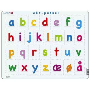 Larsen Puslespil - ABC med små bogstaver 37-LS13DK