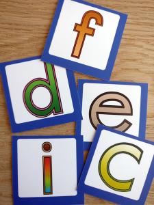 ABC Leg - Kort til interaktiv væg - Bogstaver 99-4510