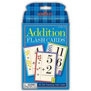 Eeboo Flash Cards, Addition - Plus 10-EFLADD2