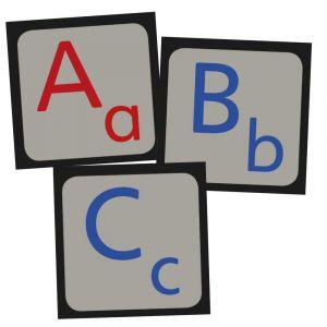 Gulvbrikker bogstaver 15-780020