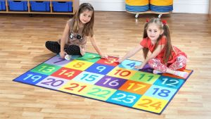 Læringstæppe tal 1-24 60-MAT1012