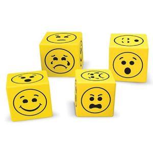 Learning Resources® - Samtale terninger Emoji 77-LER6367